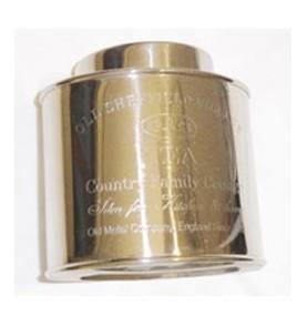 Boîte à thé métal argenté Sheffield 250 gr