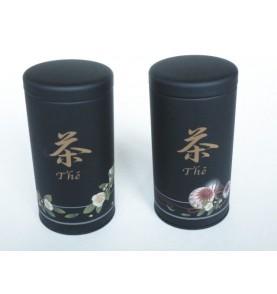 ANAKUSA coffret de 2 boites à thé métal 100 gr assorties Japon