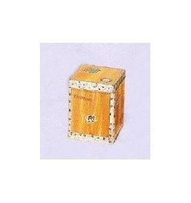 Boite à thé métal 'Caisse de thé'  carrée 227 gr