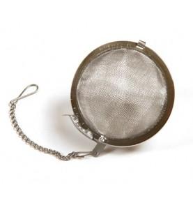 Boule à thé métal grand format pour tisane : diamètre 6,5cm