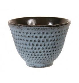 Tasse en fonte ARARE bleu clair picots 10 cl