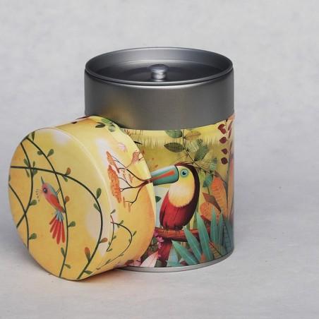 Boîte à thé animaux toucan