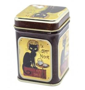 """Boîte à thé """"Le chat noir"""""""