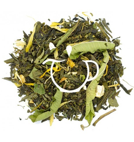 thé vert mandarine pamplemousse bio