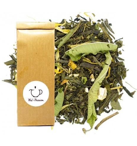 thé vert mandarine pamplemousse