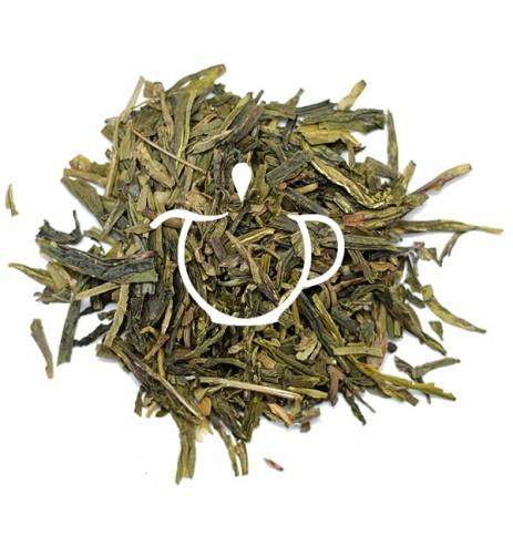 Thé vert de Chine Lung Chin Le Puits du Dragon