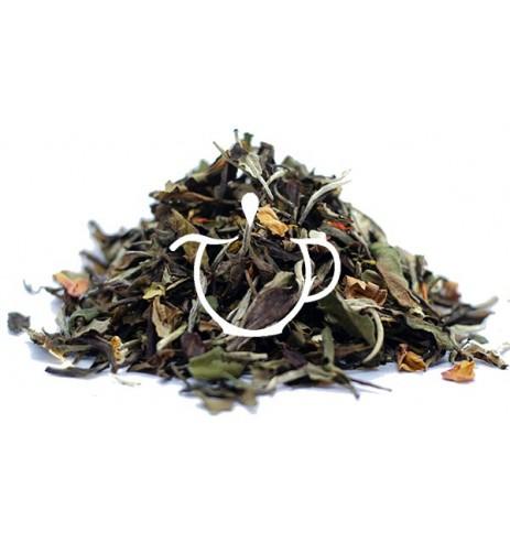 thé blanc parfum soleil pacifique