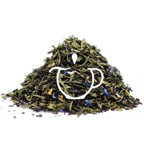 Thé Vert Thé Noir parfum Zanzibar