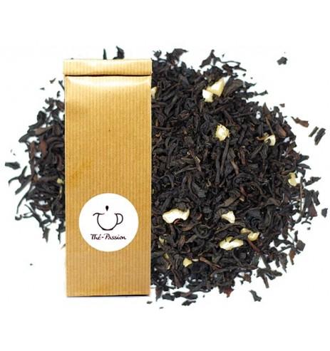 Thé Noir parfum Amande