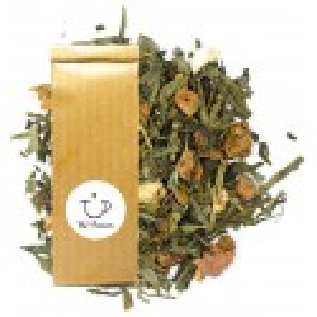 thé vert rêve d'automne