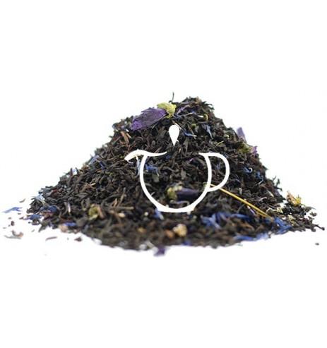Thé Noir parfum Earl Grey Fleurs Bleues