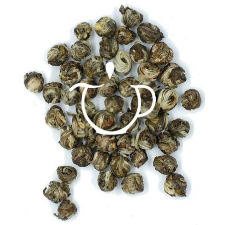 Thé blanc Jasmin Perles de Jade Bio