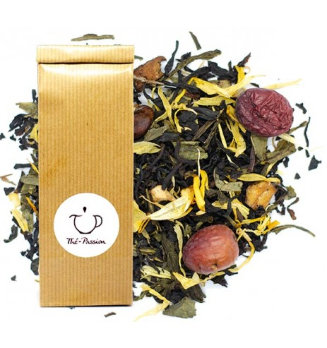 thé noir thé vert l'île aux trésors