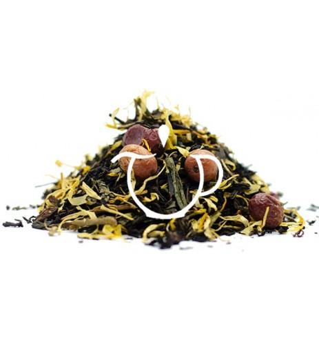 thé noir thé vert bio