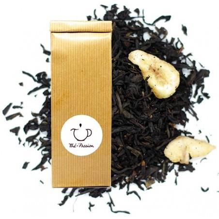 Thé Noir parfumé Banane