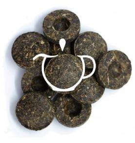 Thé Noir Chine Pu Erh Mini Tuo Cha
