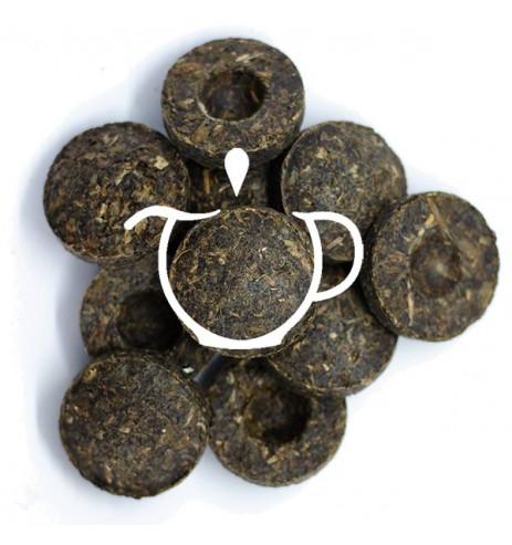 Thé noir Pu Erh Mini Tuo Cha de Chine