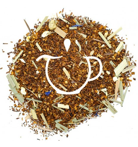 Thé Rouge Bio Rooibos Canneberge Gingembre