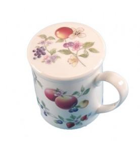 Tisanière Mug porcelaine SABRINA *Nouveau*