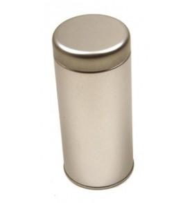 Boite à thé métal 'Argenté' ronde haute 113g GLORY *Nouveau*