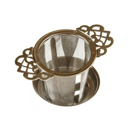 Filtre à thé métal universel DENTELLES