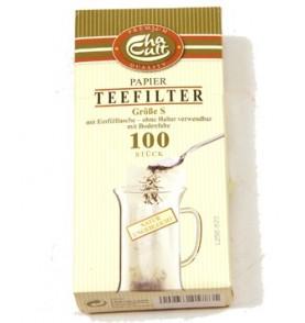Boîte filtres à thé papier individuels