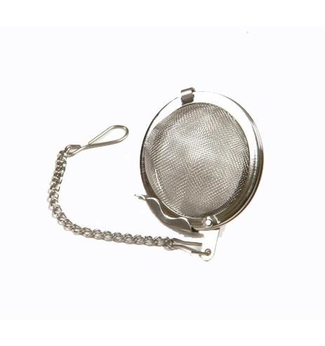 Boule à thé métal petit format diamètre 4,5cm