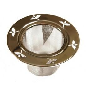 Filtre à thé métal permanent universel inoxydable pour mug CASA 5,5cm