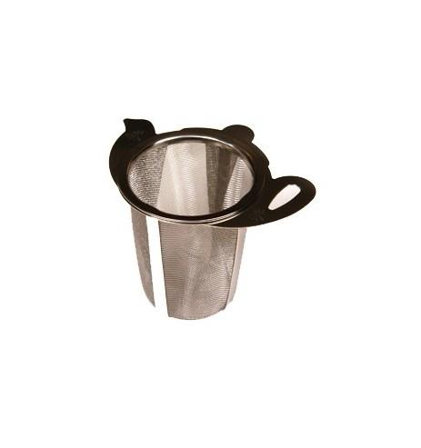 Filtre à thé métal universel pour mug et théière décor théière