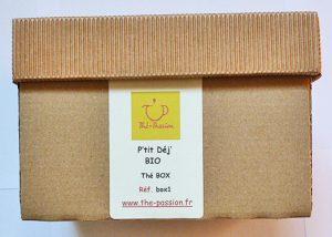 P'tit Déj' BIO Box N°1 Thé-Passion
