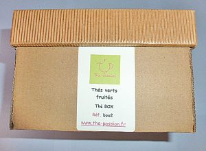 Thé verts fruités box N°2 Thé-Passion