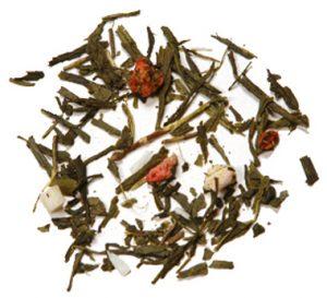 thé vert Fraise Colada