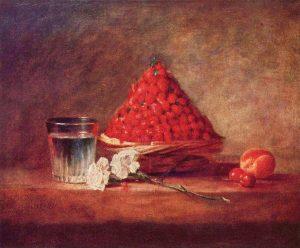 peinture fraise