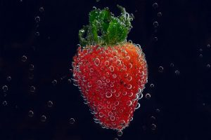 fraise infuse