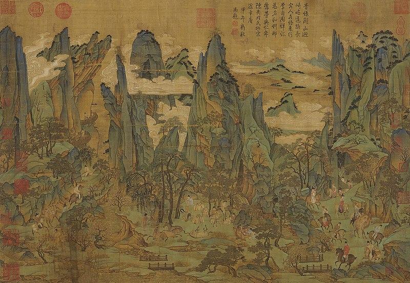 dynastie tang thé